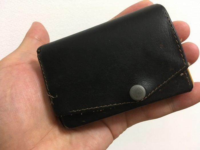 アブラサスの小さい財布6年後のレビュー