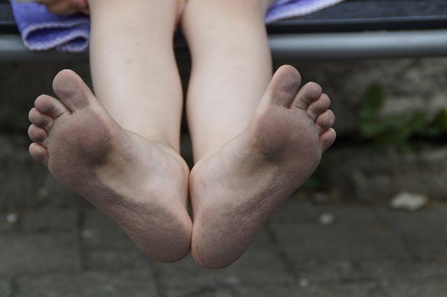 足の裏が痛い!土踏まず、かかと付近の痛み。2日で治った。