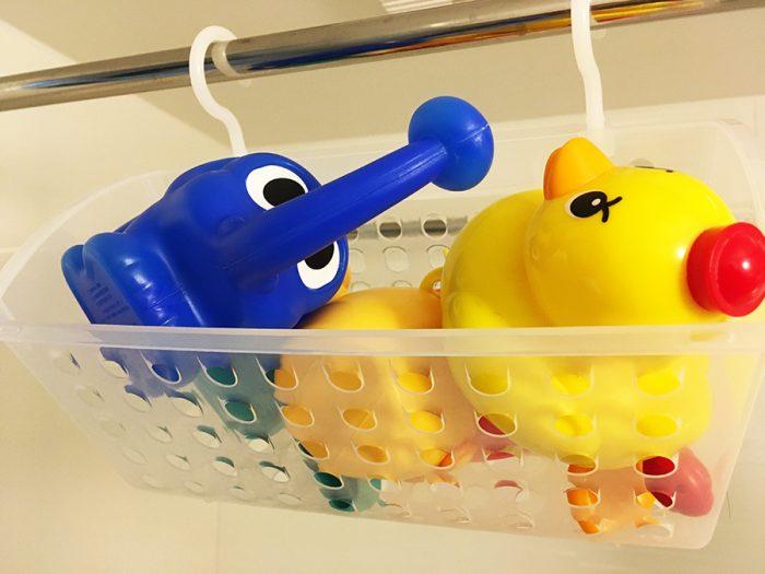 息子のお風呂のおもちゃ